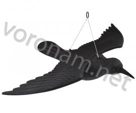 Муляж ВОРОН-2 с крыльями пластмассовый