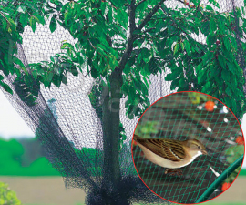 Сетка для защиты от птиц нейлон 5 х 5 м, ячейка 2 x 2 см
