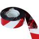 Стрічка світловідбиваюча червоно-біла 2,5 см х 47 м